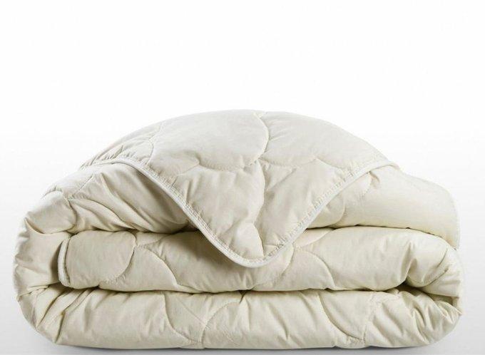 Одеяло летнее светло-бежевого цвета 240x260