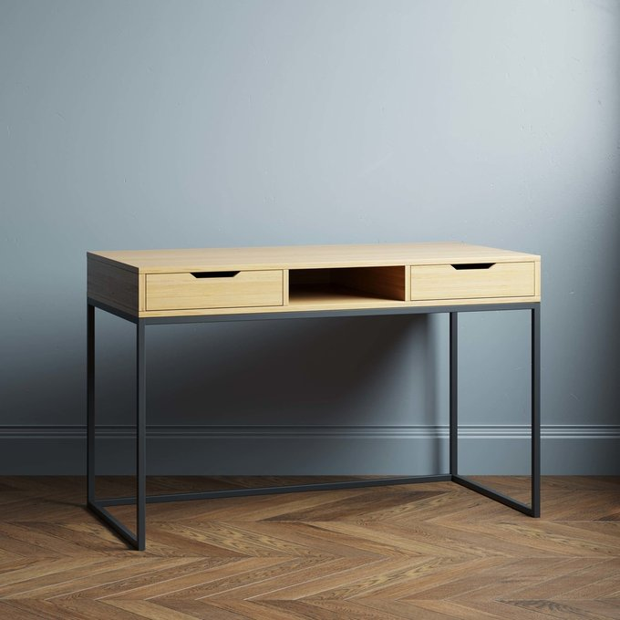 Письменный стол Ramon 140х70 с белыми ящиками