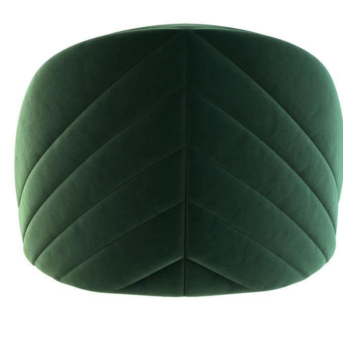 Стул полубарный Renato зеленого цвета