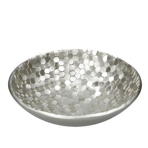 Чаша Esagoroso silver серебряного цвета