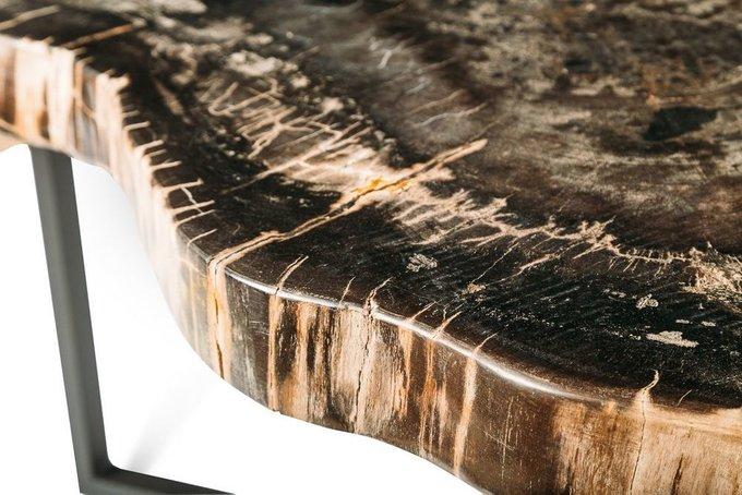 Журнальный стол Бинтау из окаменелого дерева 381089