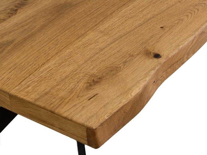 Стол обеденный Leon со столешницей из массива дуба