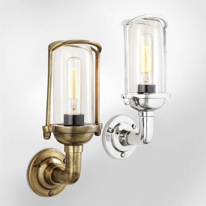 Бра Lamp Wolseley из стекла и металла