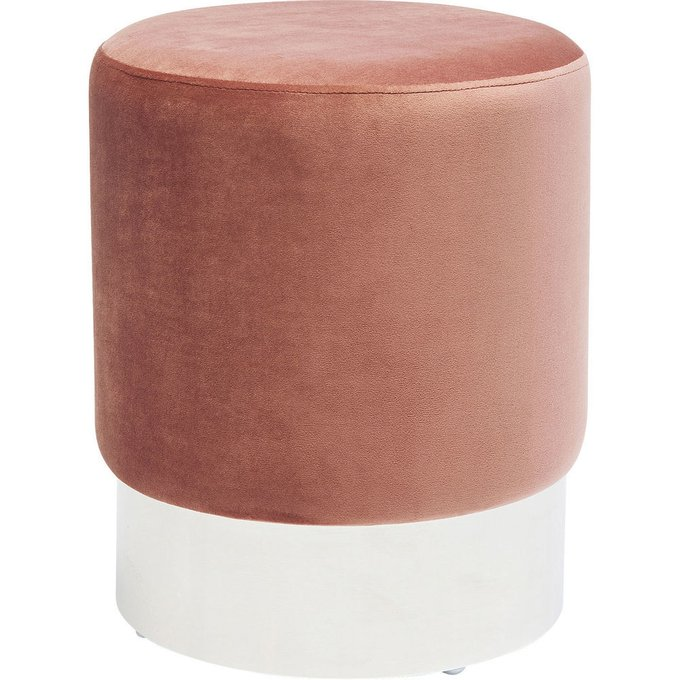 Пуф Cherry розового цвета