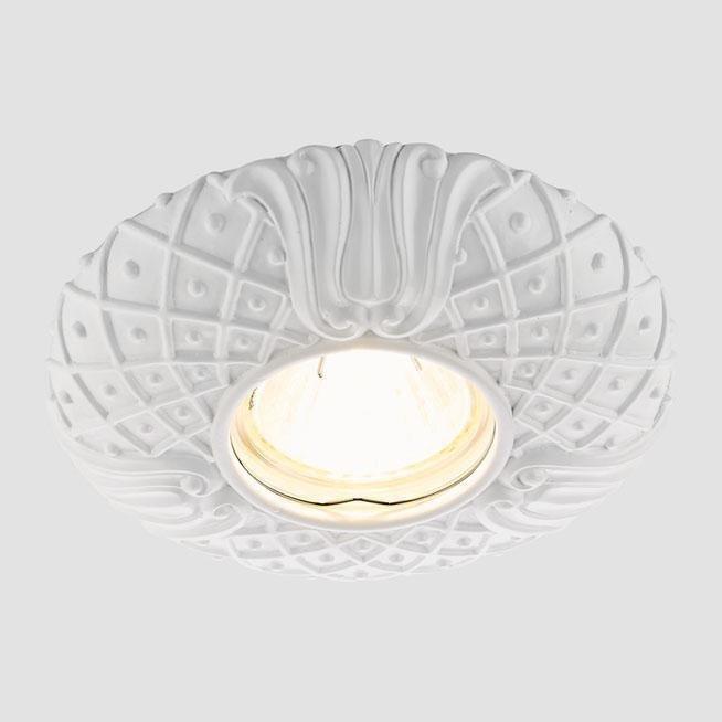 Встраиваемый светильник Desing белого цвета