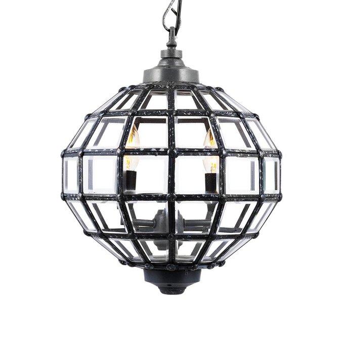 Подвесная люстра Luna Timbre из металла и стекла