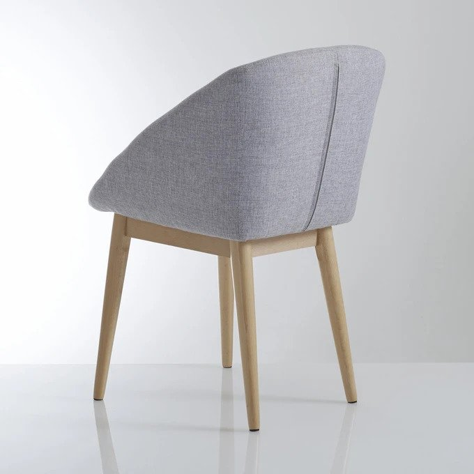 Обеденный стул Jimi серого цвета
