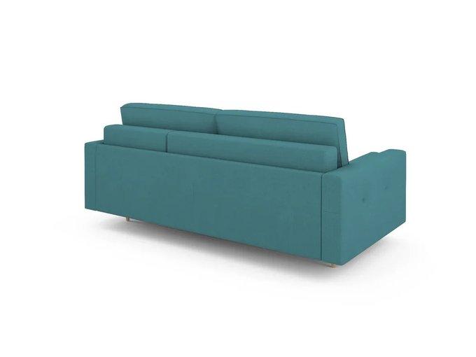 Диван-кровать Отто правый бирюзового цвета