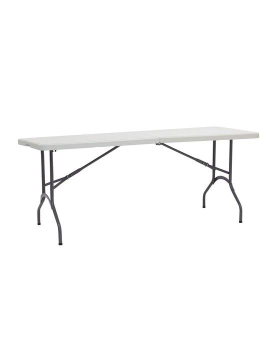 Обеденный стол Кейт из пластика и стали
