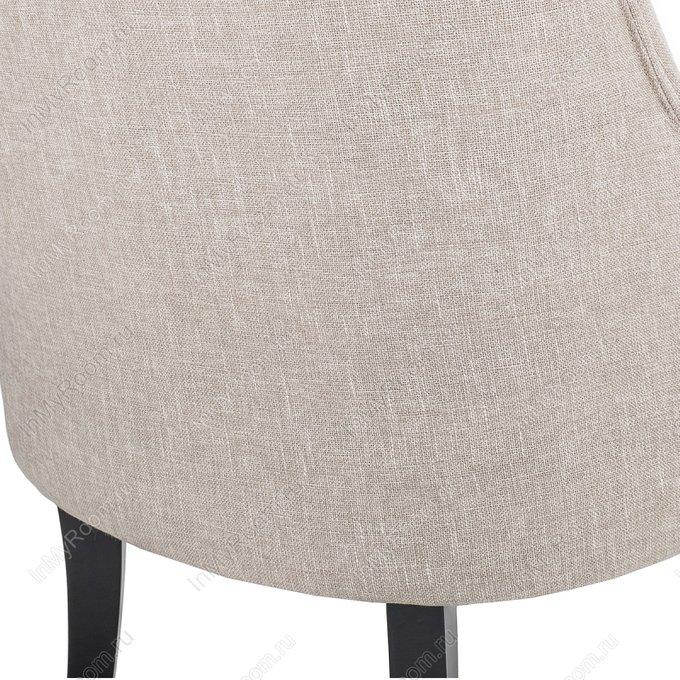 Кресло Deni cream на колесиках