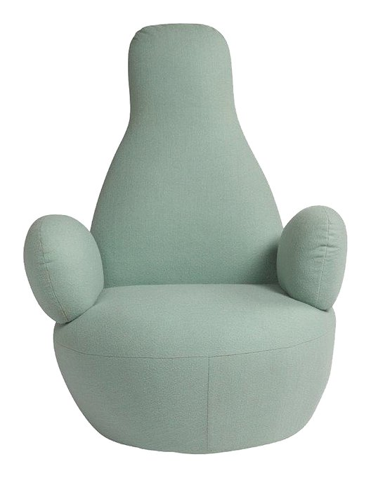 Кресло Bottle Chair цвета тиффани