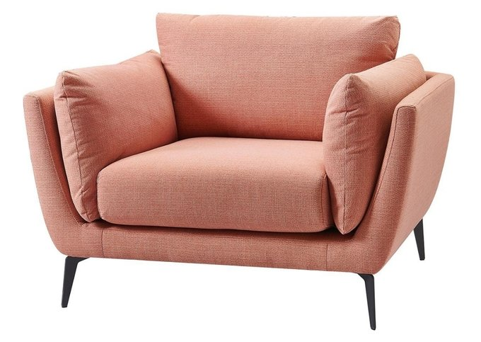 Кресло Amsterdam кораллового цвета