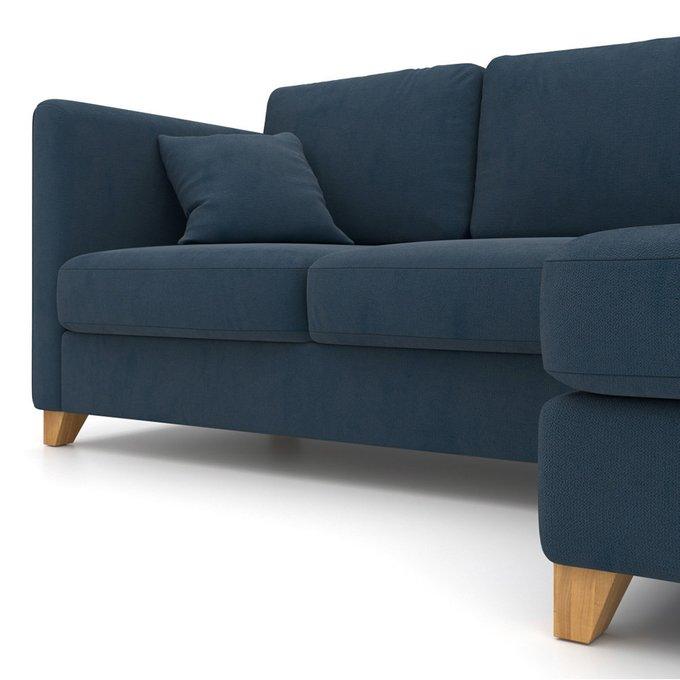 Угловой диван-кровать Bari EKL синий