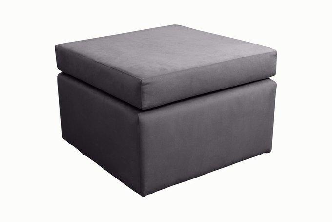 Каркасный пуфик Swede серого цвета