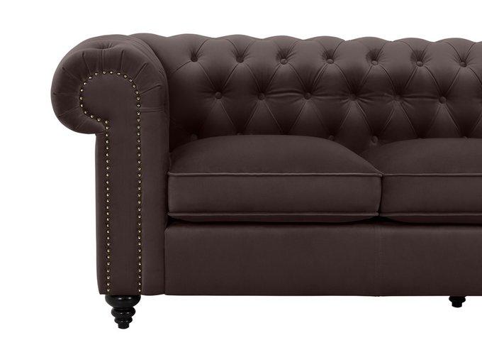 Диван Chester Classic коричневого цвета