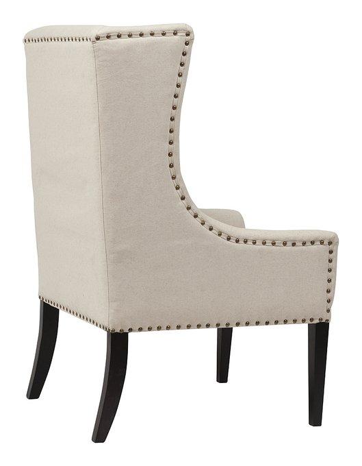 Кресло Nailhead Fabric Armchair
