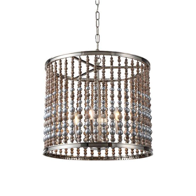 Подвесной светильник silver на никелированной арматуре