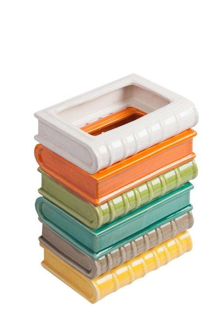 Декоративное кашпо в виде стопки книг Stockwerk Grande