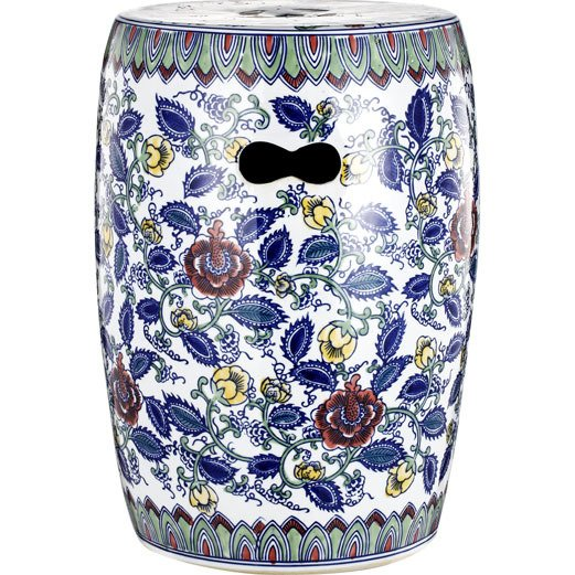 """Керамический столик-табурет """"Garden Stool Ermitage"""" в виде барабана"""