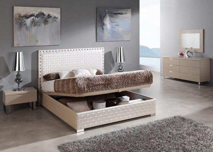 Кровать Dupen Manhattan с высоким изголовьем 180x200