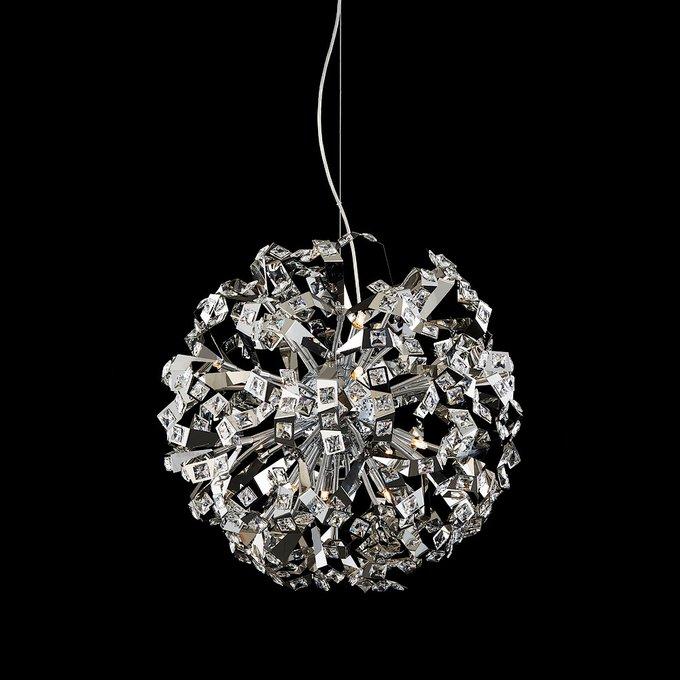 Подвесной светильник Illuminati с плафоном из множества металлических элементов