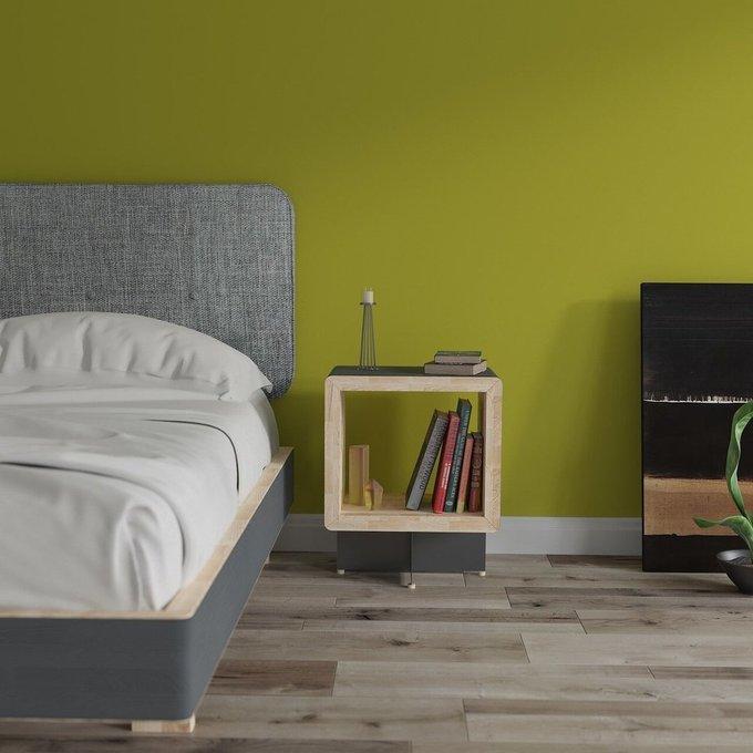 Кровать EcoComb с мягким изголовьем 160х200