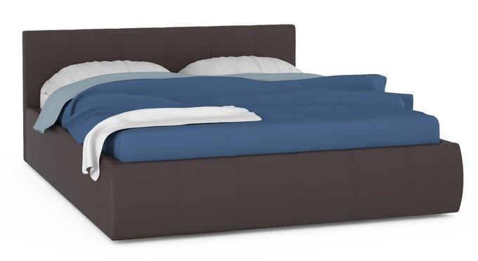 Кровать Афина коричневого цвета 160х200