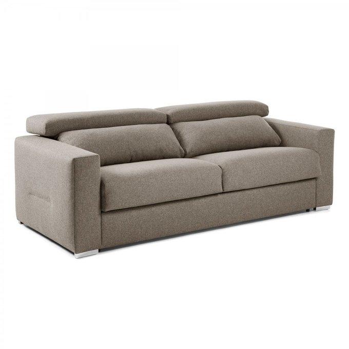 Диван-кровать Queen коричневого цвета