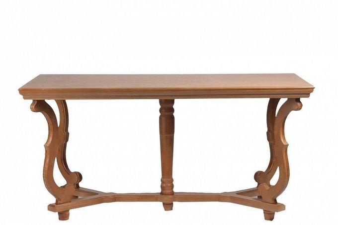 Обеденный стол Bogen из натурального дерева и МДФ