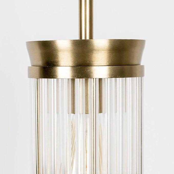 Подвесной светильник Angel On Fire L с золотым основанием