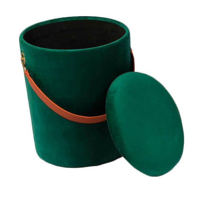 Пуфик Barselona big зеленого цвета