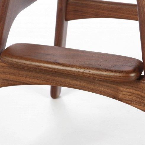 Барный стул Buch коричневого цвета