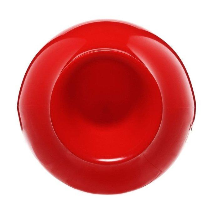 Ваза Misses Flower Power красного цвета
