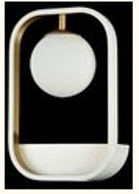 Бра Avola со стеклянным плафоном