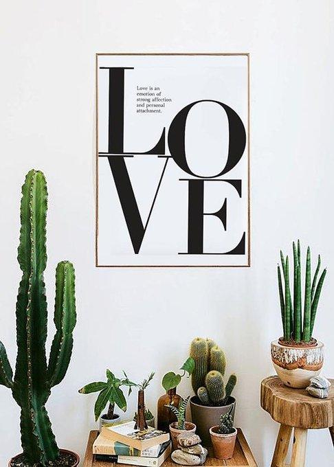 """Постер """"Love is Love"""" А3"""