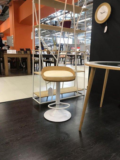 Барный стул Lou дуб white
