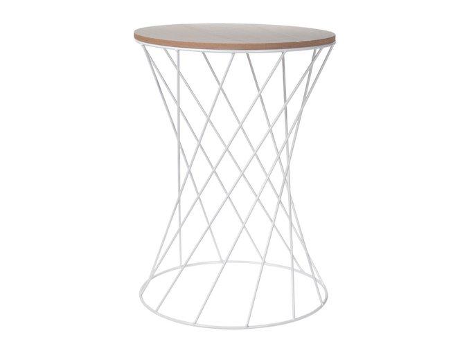 Кофейный столик Tavolo с металлическим основанием
