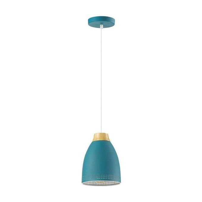 Подвесной светильник Anna синего цвета