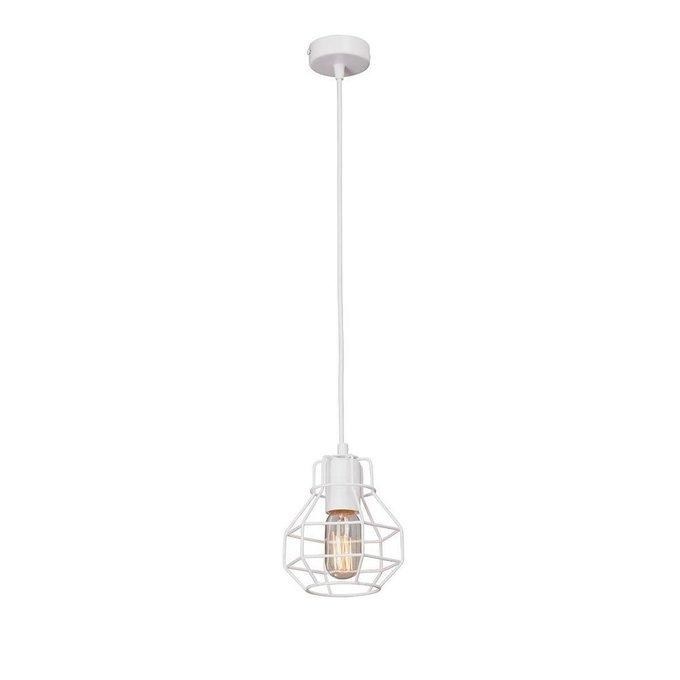 Подвесной светильник Flannery белого цвета