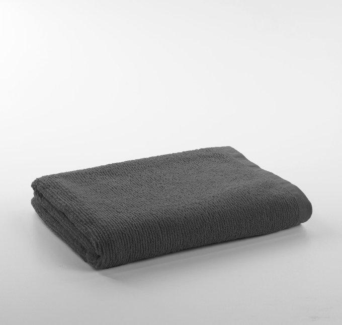 Банное полотенца Miekki large bath towel dark grey