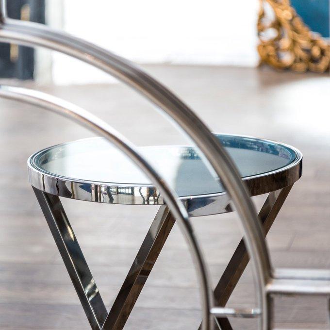 Кофейный столик Увертюра со стеклянной столешницей