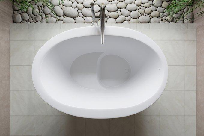 Каменная Ванна True Ofuro Сидячая в Японском Стиле