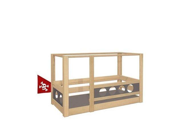 """Кровать с балдахином De Breuyn """"Пират"""" 90х200 см"""