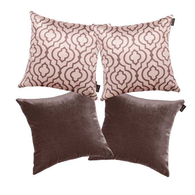 Комплект чехлов для подушек Lux Marrakech Mocca