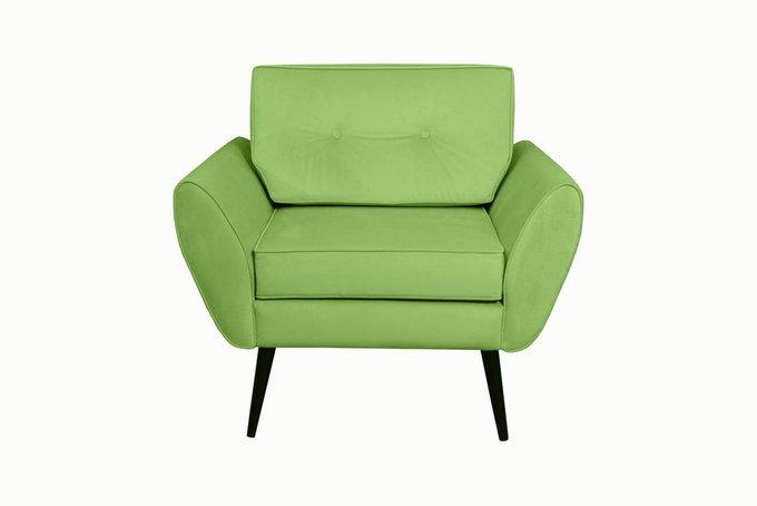 Кресло Swede зеленого цвета