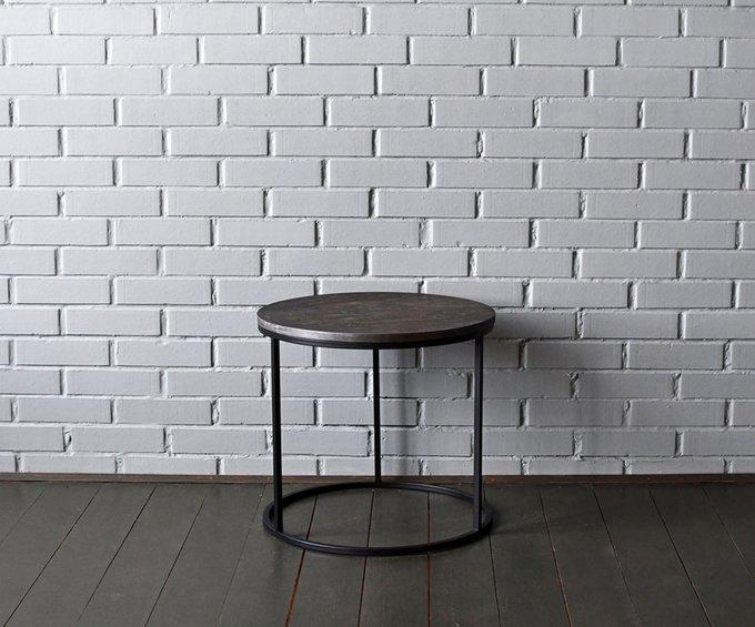 Журнальный стол O Plyсо столешницей серебристо-графитового цвета