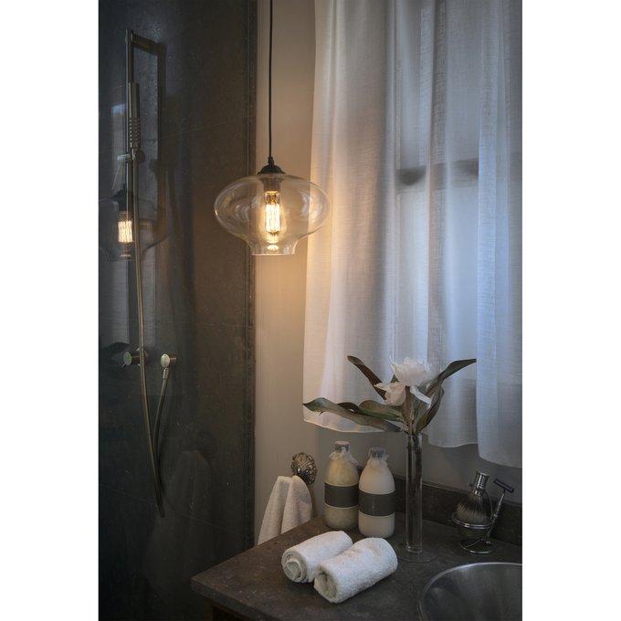 Подвесной светильник Faro Alma с плафоном из стекла