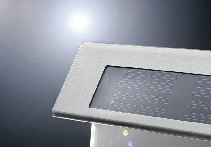 Светильник на солнечных батареях House Number