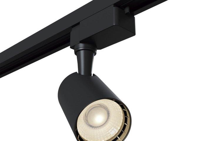 Трековый светодиодный светильник Track черный