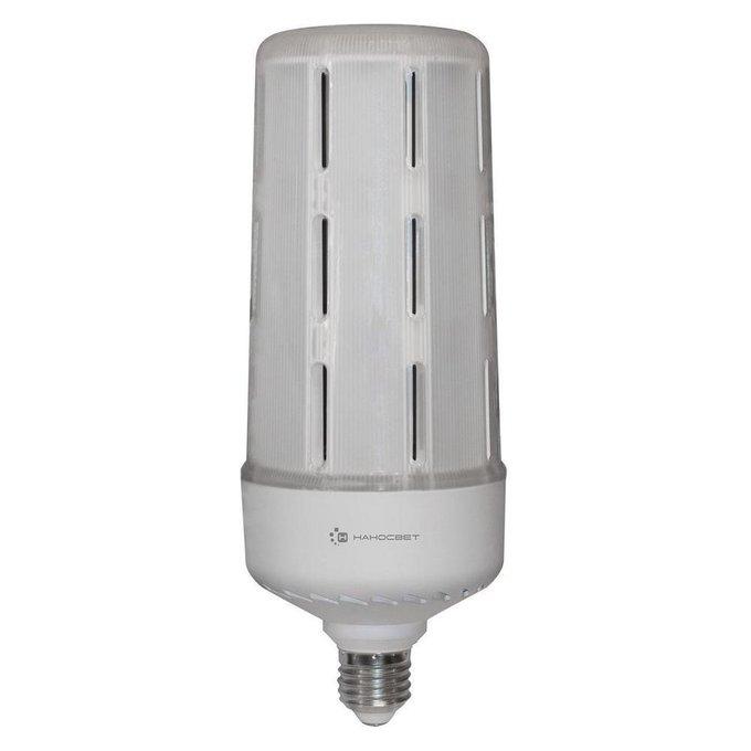 Лампа светодиодная Колба матовая белого цвета